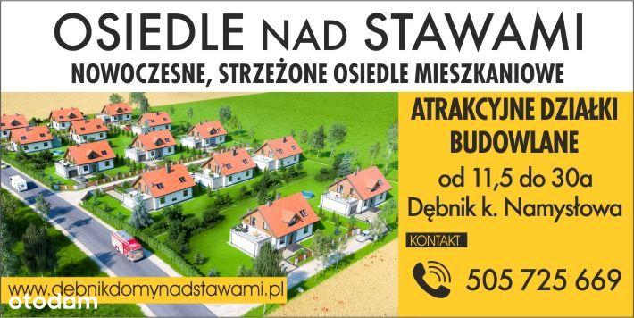 Atrakcyjne działki budowlane - Dębnik /Namysłów