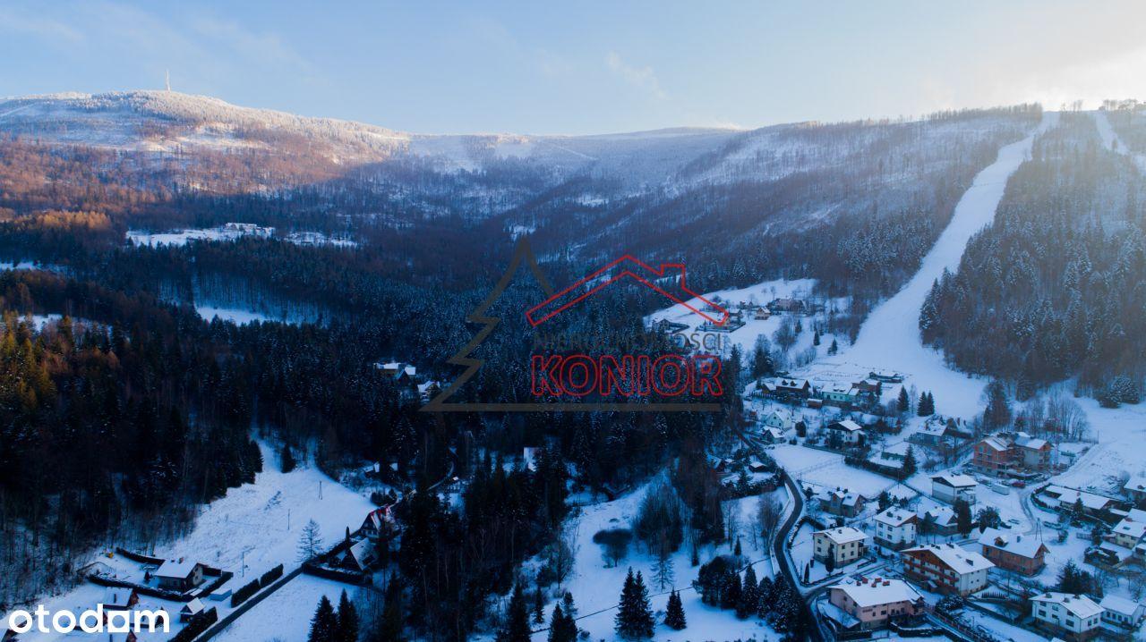 Działki w rejonie stoków narciarskich.