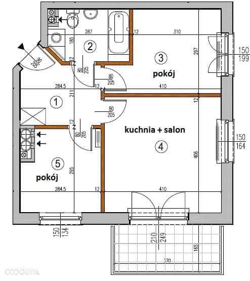 Mieszkanie 45m2 ul.Rakowska
