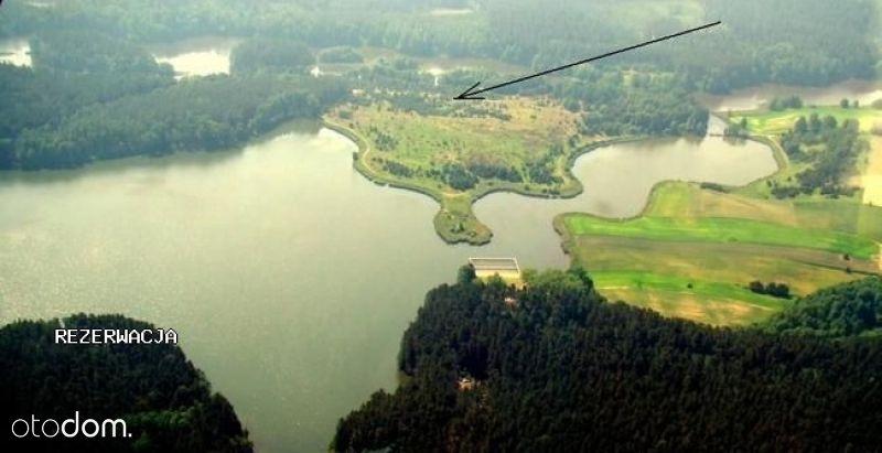 Działka nad jeziorami w Borach Tucholskich