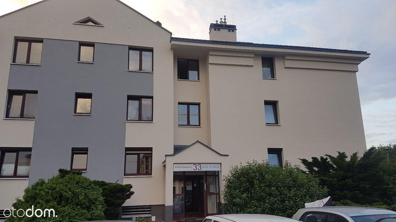 mieszkanie 56 m2, 2 pokoje, parking zagrodzony