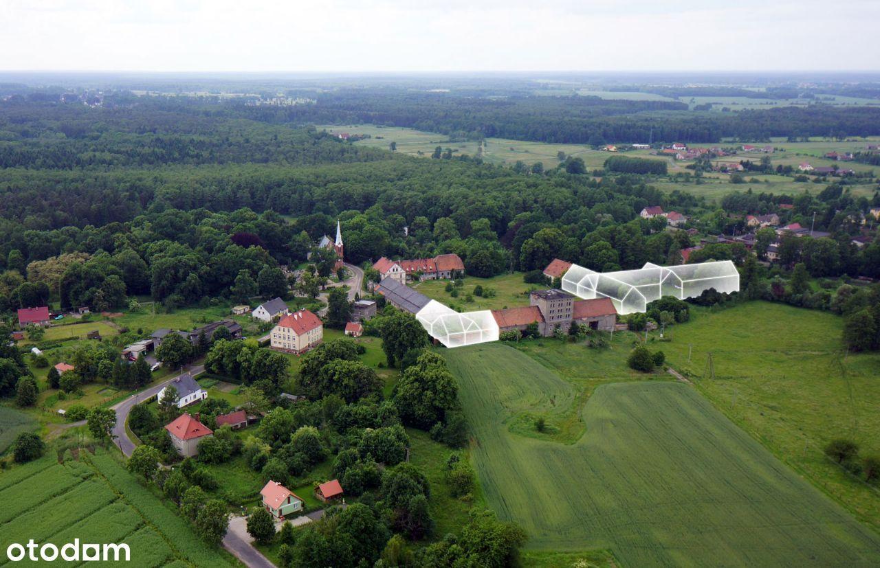 Atrakcyjna Inwestycja Folwark Pałac blisko Niemiec