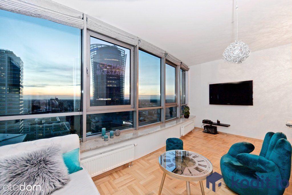 Apartament 75 m2 na 29 piętrze, obłędny widok