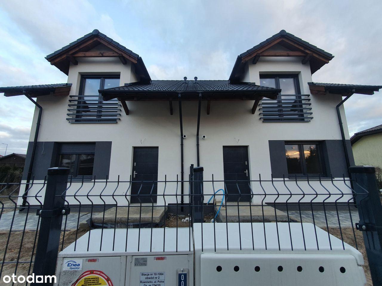 Dąbrowa- bliźniak na osiedlu domów jednorodzinnych