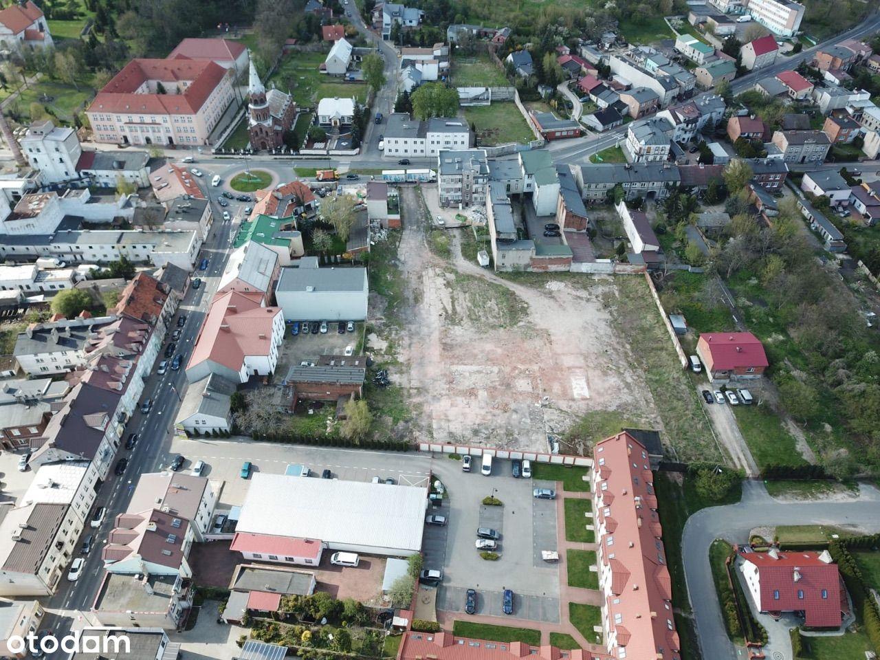 Działka budowlana w centrum Konina inwestycyjna