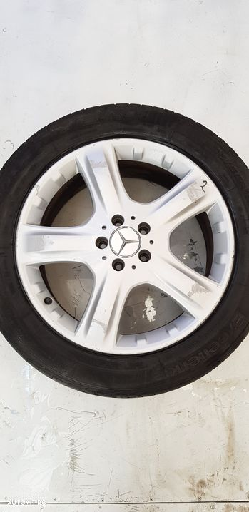 Janta aliaj set 5x112 ,r19 ,vara ,uzate  Mercedes-Benz ML / M-CLASS  - fabricatie:  2005 > ML 320 C - 11