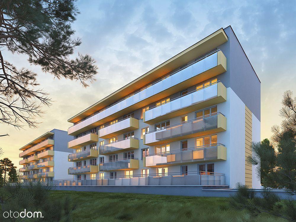 """Kompaktowe Mieszkanie """"Dolina Cisów"""" 3/VIII M20"""
