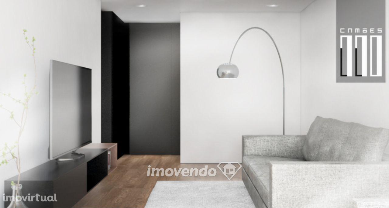 Apartamento T1, em condomínio de luxo, no coração da cidade do Porto