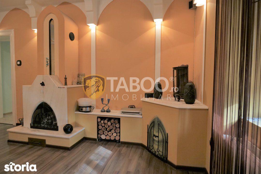 Apartament la casa cu 6 camere 714 mp curte in zona Centrala Sibiu
