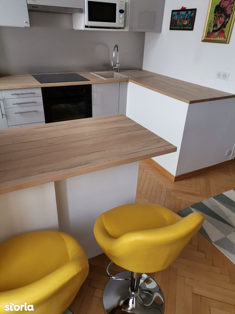 Apartament cu 1 camera tip studio, de inchiriat, zona centrala