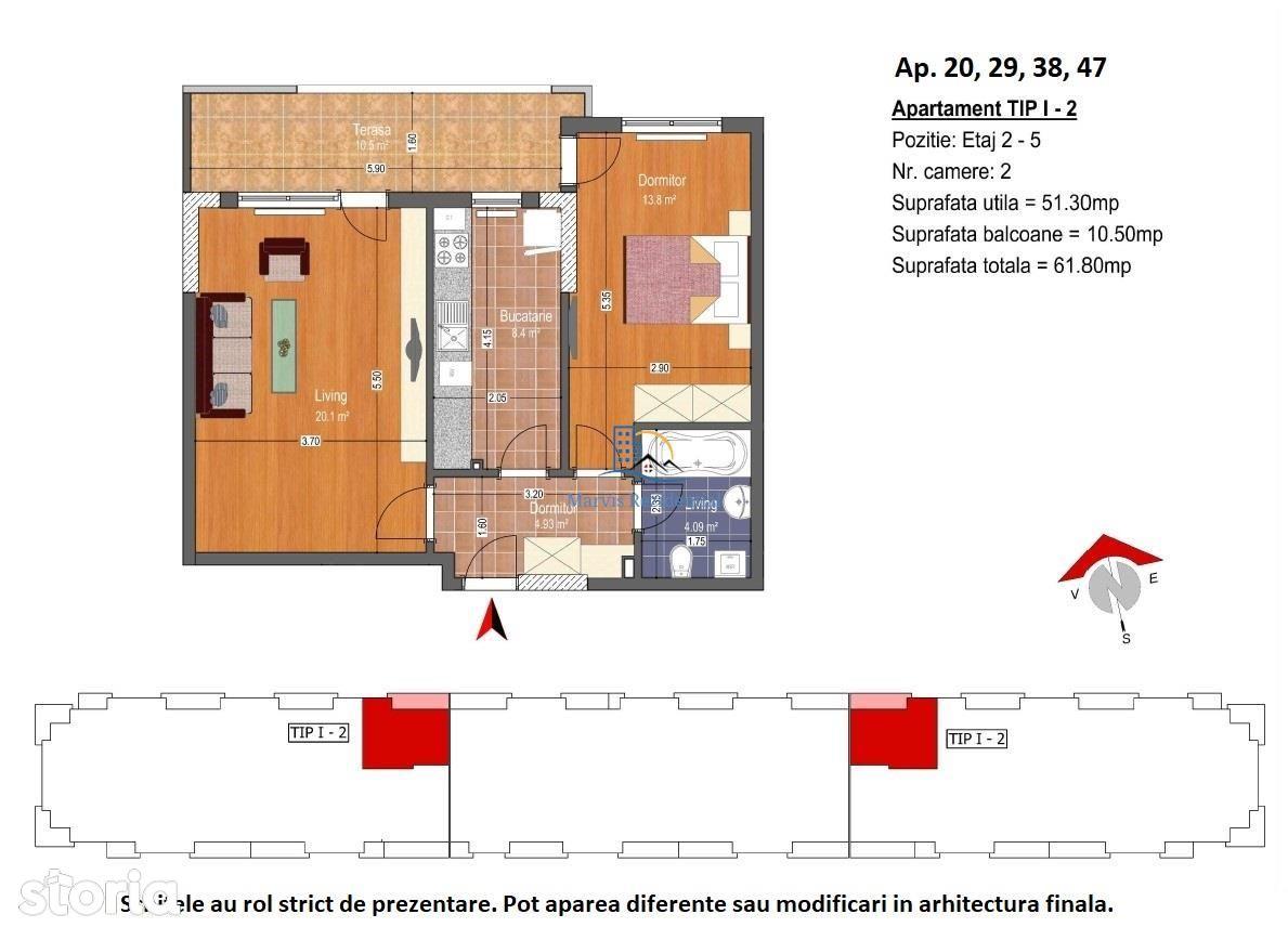Apartament 2 camere\/ PRET PROMO