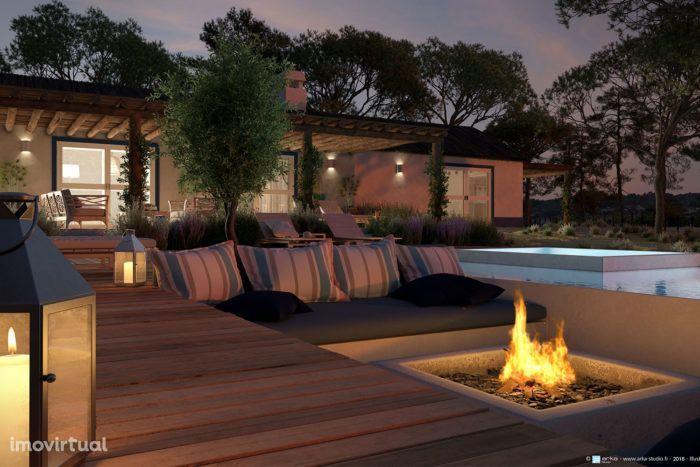 Moradia T3 de Luxo com Jardim