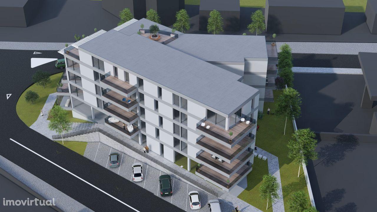 Apartamento T2 c/107 m2 de Luxo NOVO em Amares