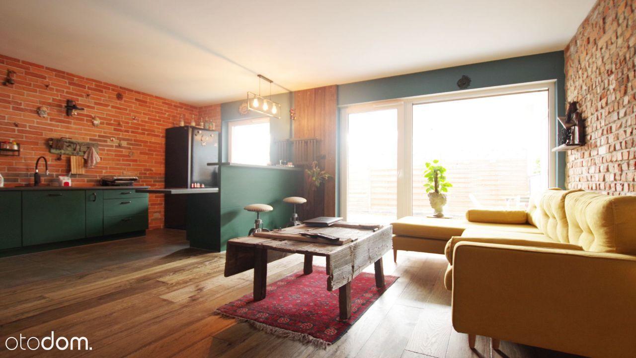 Nowoczesny apartament z ogródkiem - widok na Wisłę
