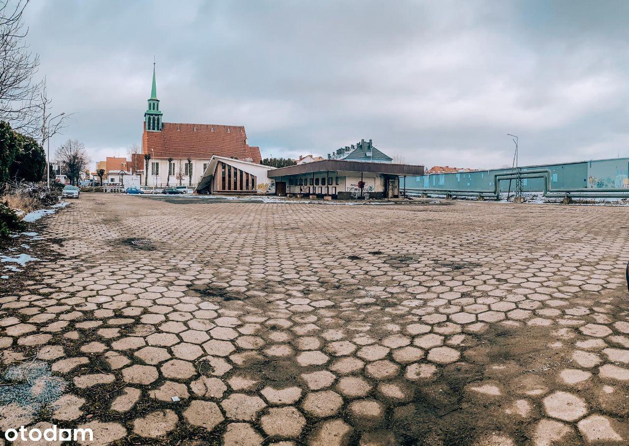 Działka komercyjna w centrum Zgorzelca