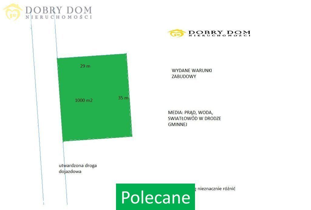 Działka, 1 000 m², Bielsk Podlaski