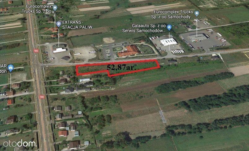 Warunki zabudowy4 domy Iwierzyce-Klęczany 52,87ar.