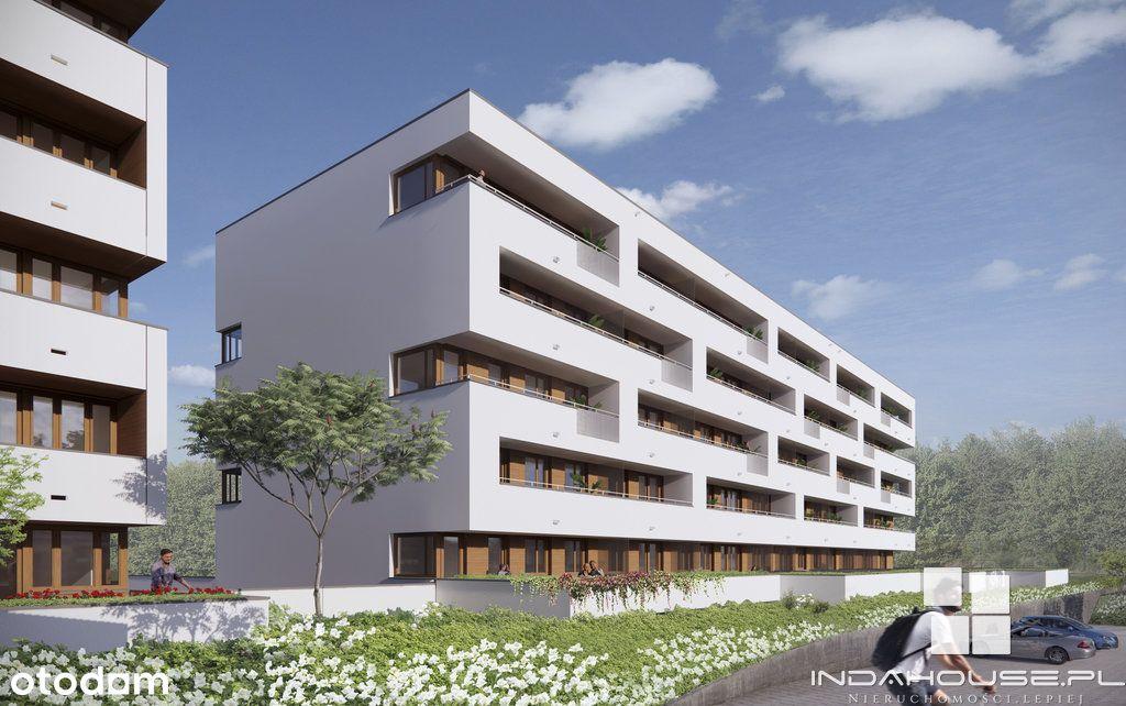 Nowe, 2 pokojowe mieszkanie z dużą loggią