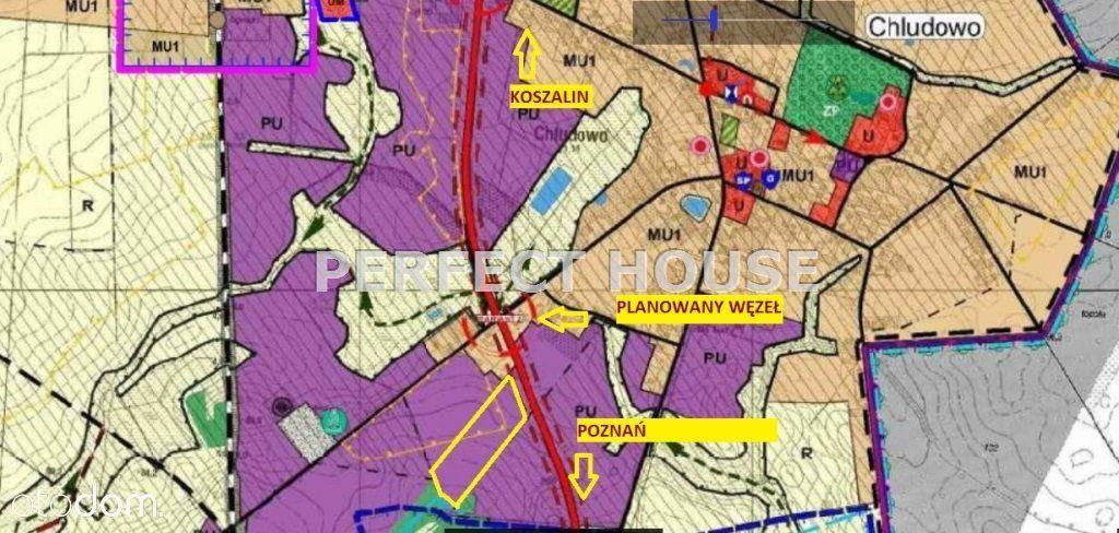 Świetny grunt inwestycyjny przy S11, 75% zabudowy