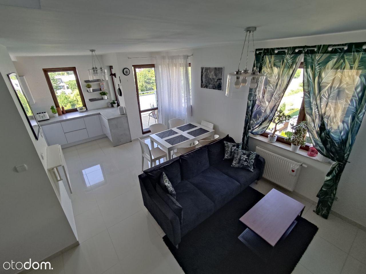 Mieszkanie dwupoziomowe Klecina 81,4m, Taras 25m