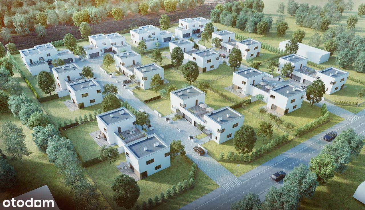 Nowoczesne domy na nowym osiedlu w TORUNIU