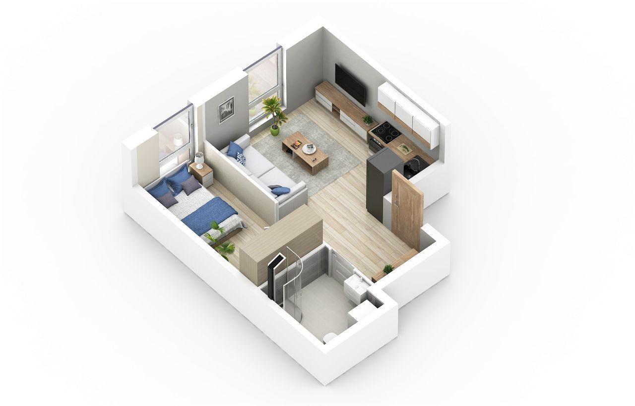 Przytulne 2 pokoje na nowoczesnym osiedlu