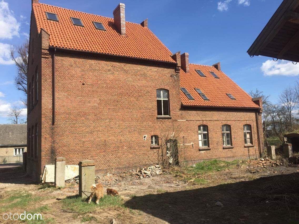 Budynek po szkole z 1910 roku,duża działka,Samołęż