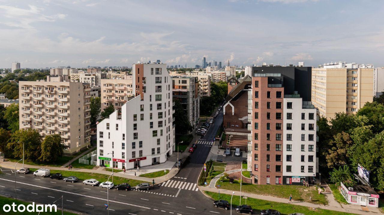 Metro Wierzbno: 2 minuty pieszo!Panorama Warszawy