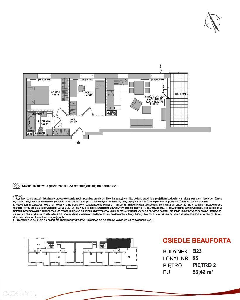 Osiedle Beauforta B23/2/25