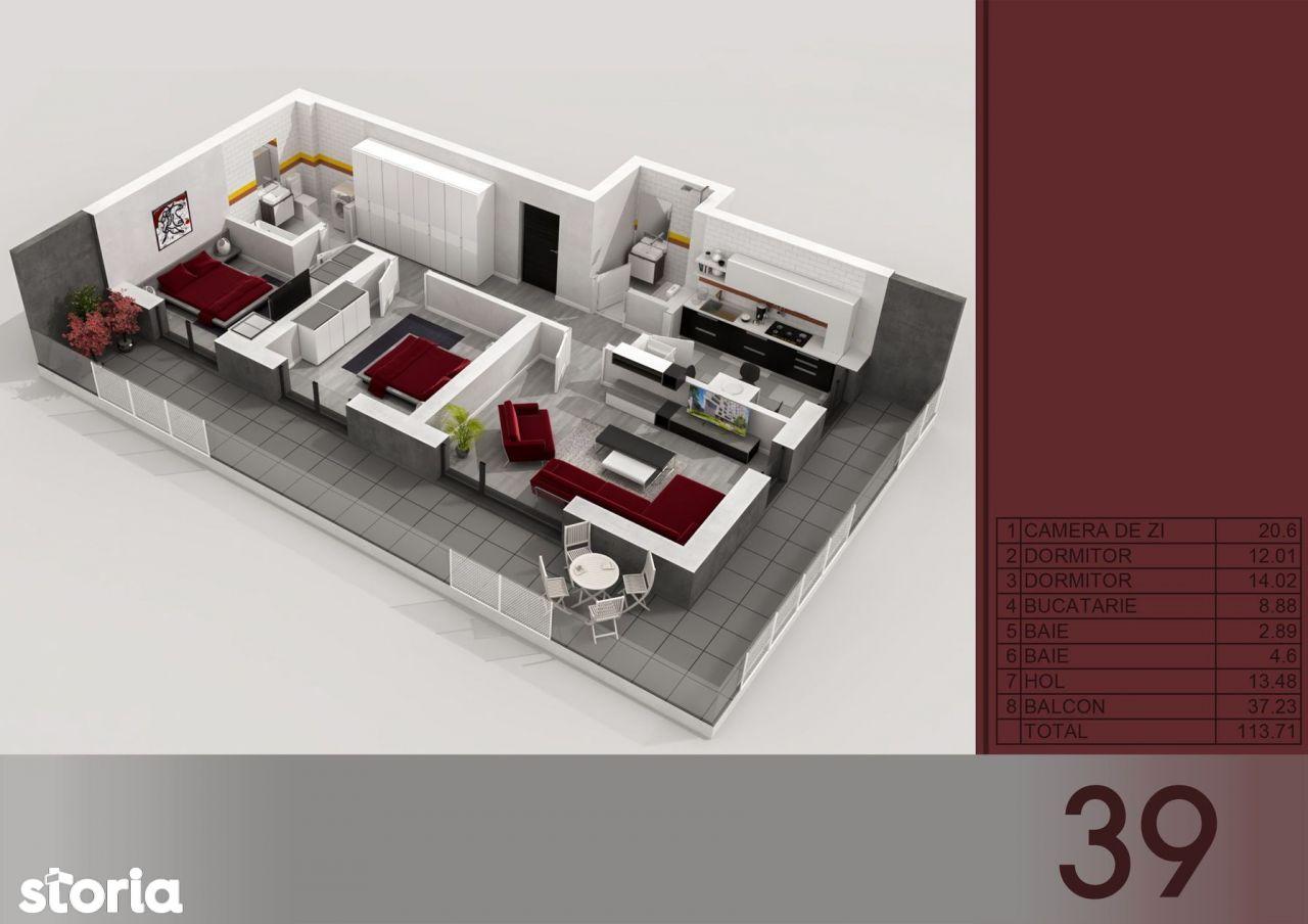 Apartament 3 cam Titan - Metrou Titan-PARC I.O.R