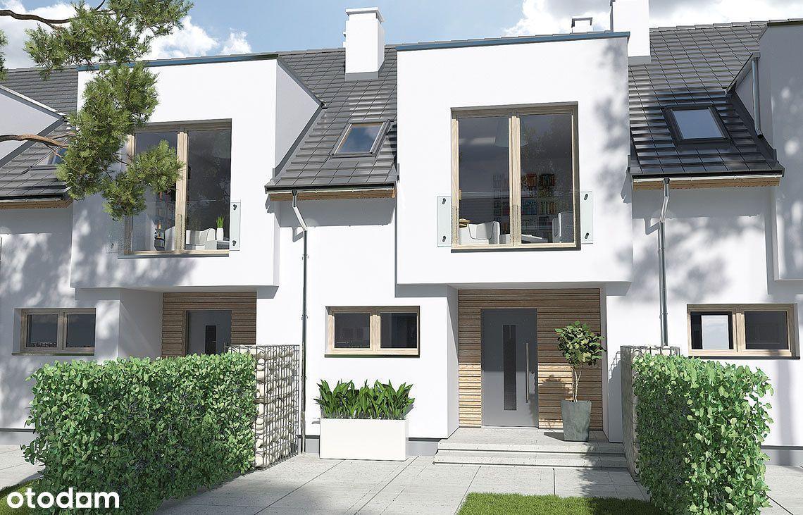 Nowy dom Włoszakowice - własny ogródek