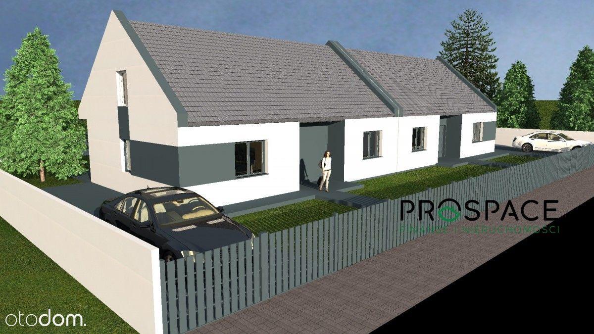 Idealny dom 80 m2 plus poddasze, działka 450 m2