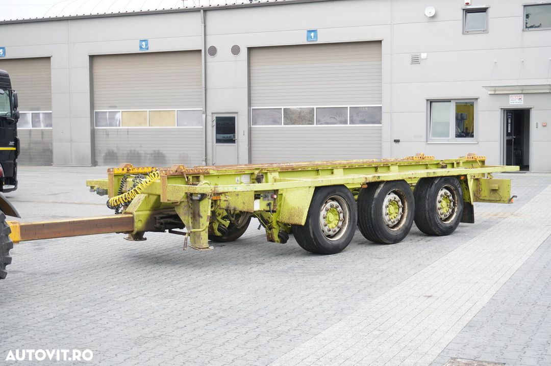 Krone Truckmate 3 axles , Roll-of tipper , 7m - 1