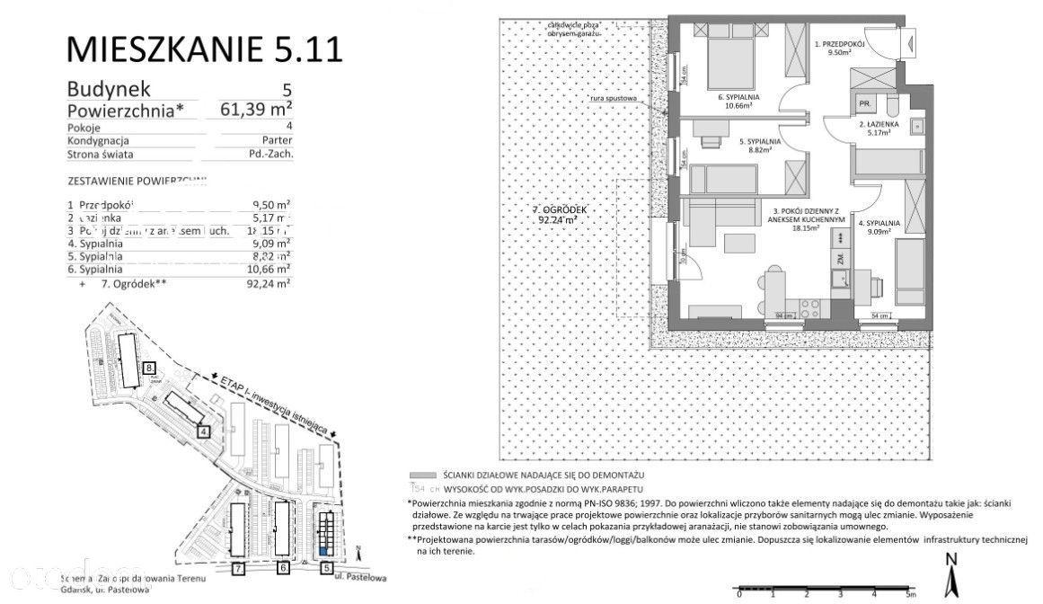 Z ogródkiem 92 m2 -II etap inwestycji w sprzedaży