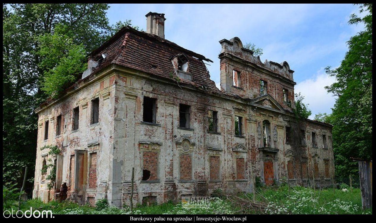 Barokowy pałac na sprzedaż Parchów/ Dolnośląskie