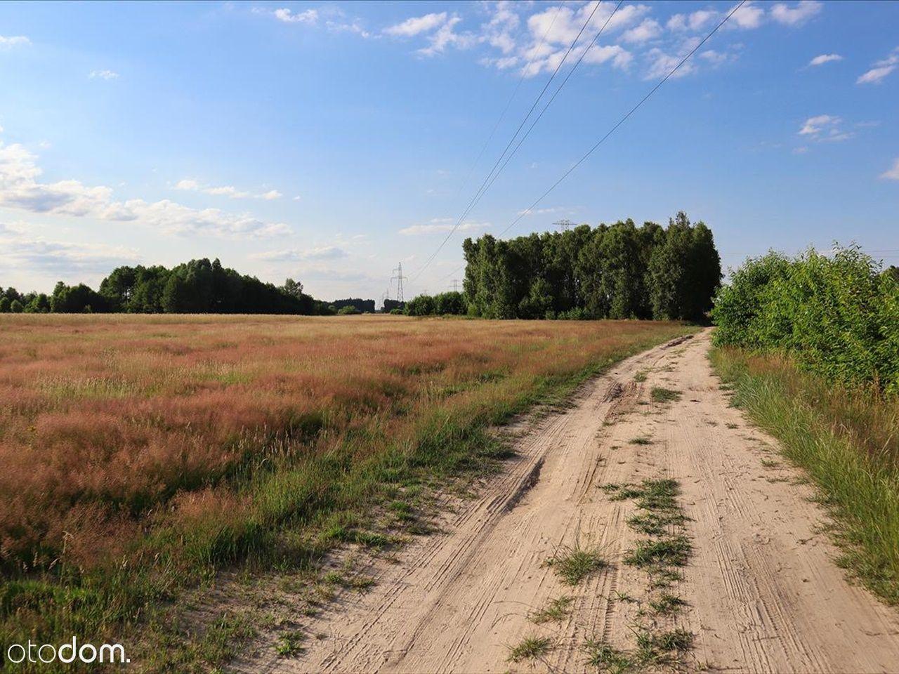 Działka w okolicach Bełchatowa - 1200 mkw