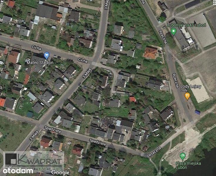 Działka, 968 m², Luboń