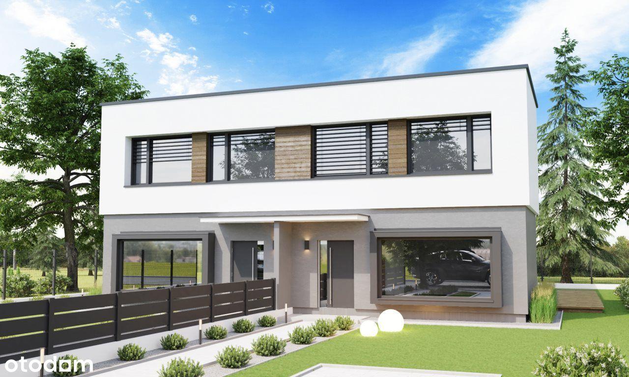 Nowe domy> Jagodno> piętro bez skosów