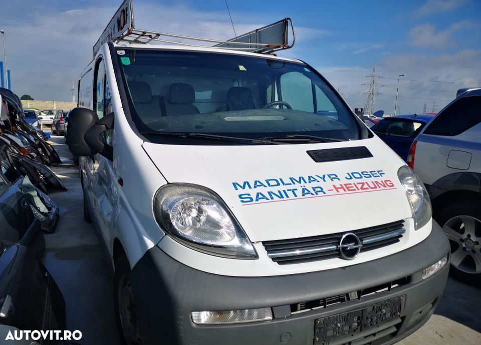 Contact complet + cheie Opel Vivaro,Renault Trafic an 2006 - 1