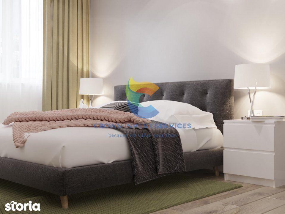 Apartament 3 camere, etaj 4, Copou, zona Sadoveanu, complex privat