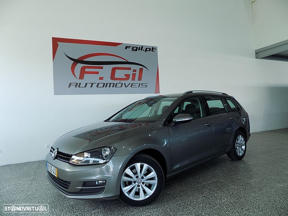 VW Golf Variant 1.6 Tdi GPS Edition Bluemotion (5P) - 1