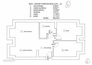 Mieszkanie nr 6 Aleja Legionów 5