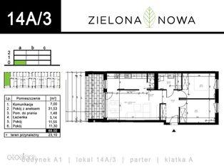 Nowe mieszkanie [14A/3] - osiedle ZIELONA NOWA
