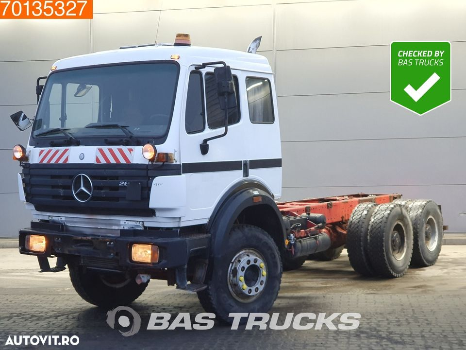 Mercedes-Benz 2631 6X4 Manual Big-Axle Steelsuspension Euro 2 - 1