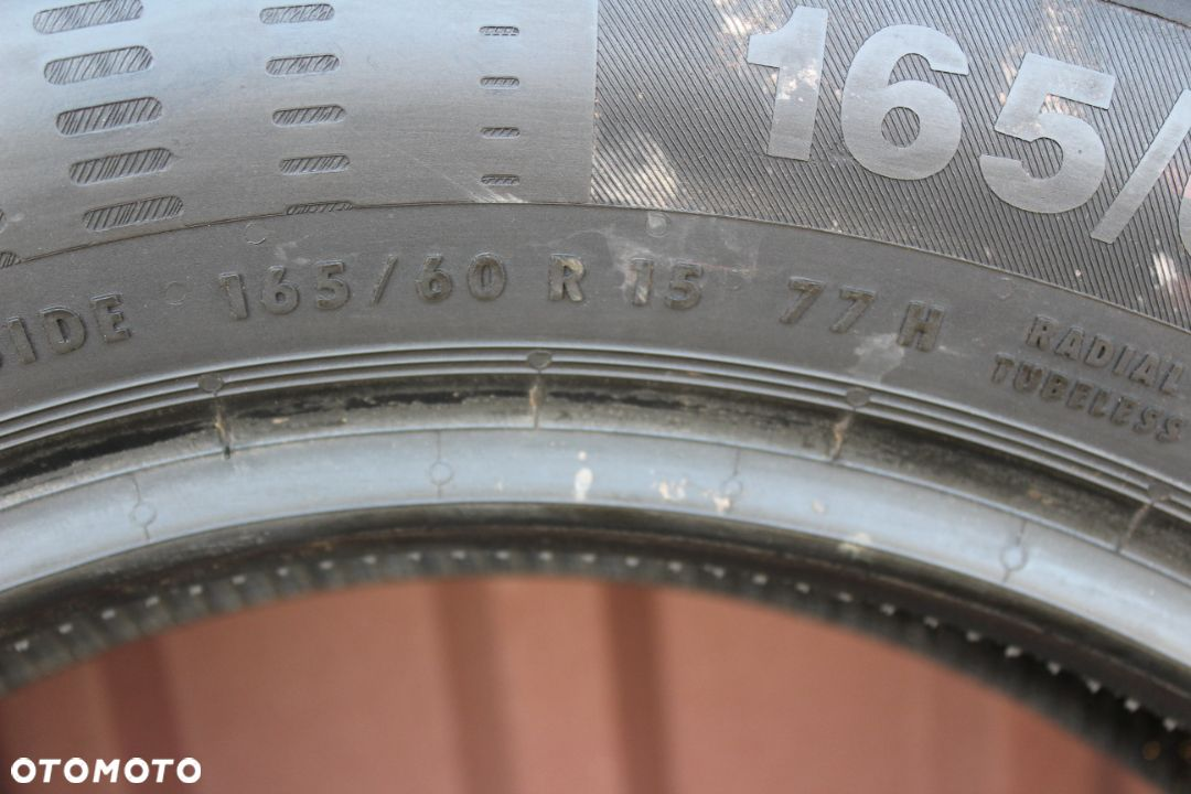 4 OPONY CONTINENTAL 165/60/15 77H  CONTI ECO CONTACT 5 - 6
