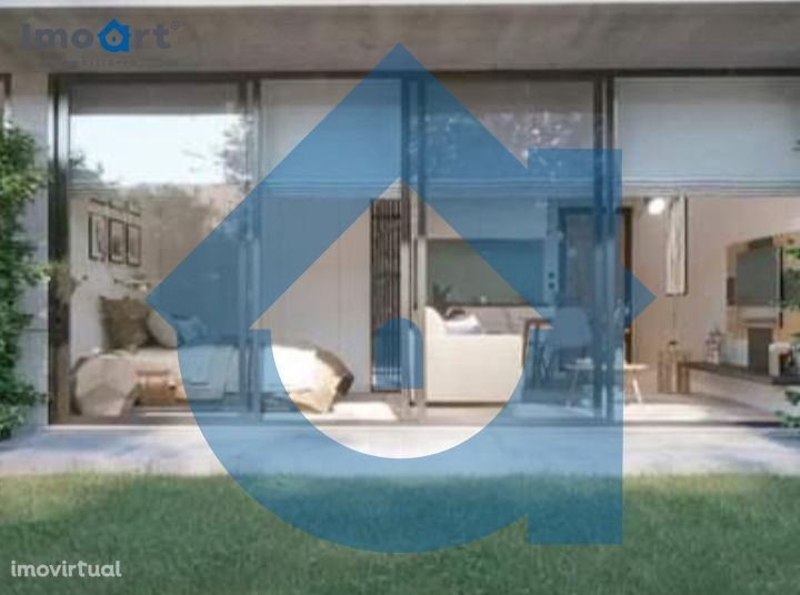 Apartamento T1 novo com garagem e jardim em Oliveira do Douro