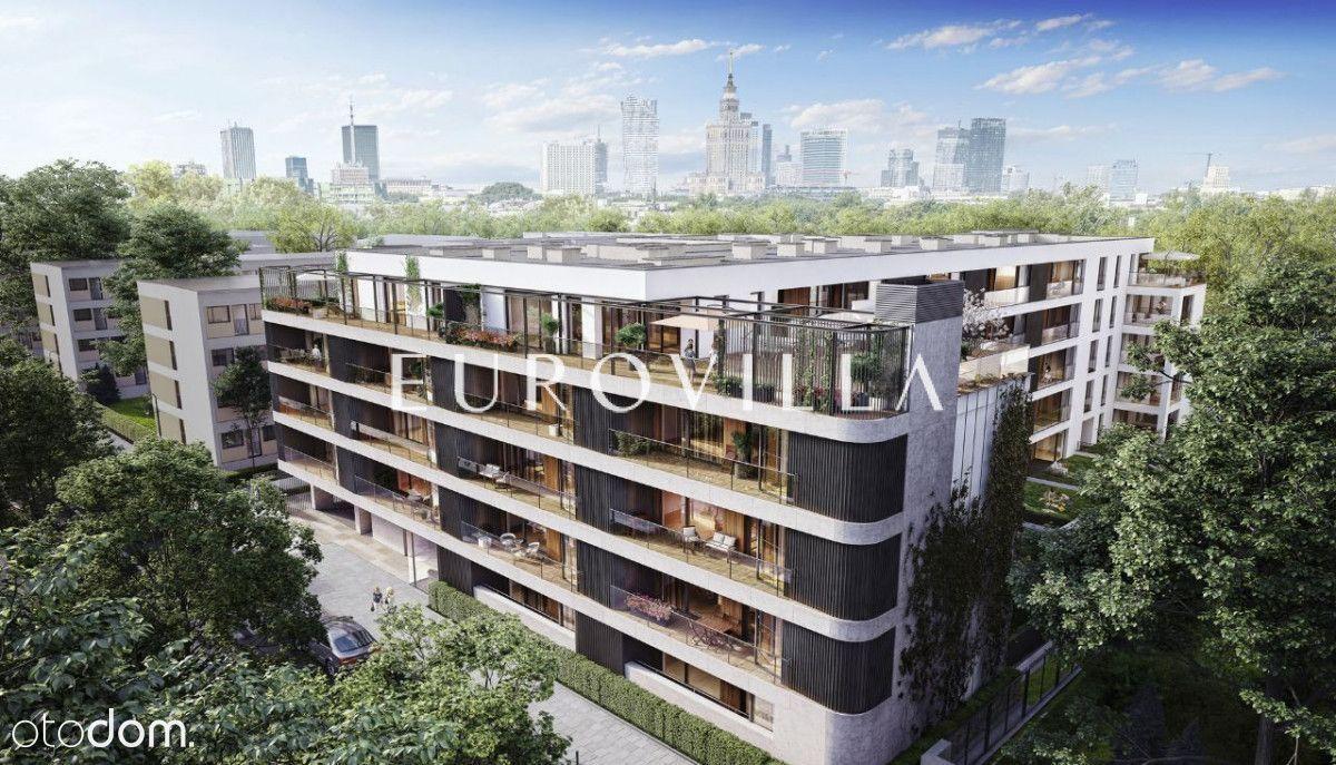 Apartament w stanie deweloperskim Łazienki Park!