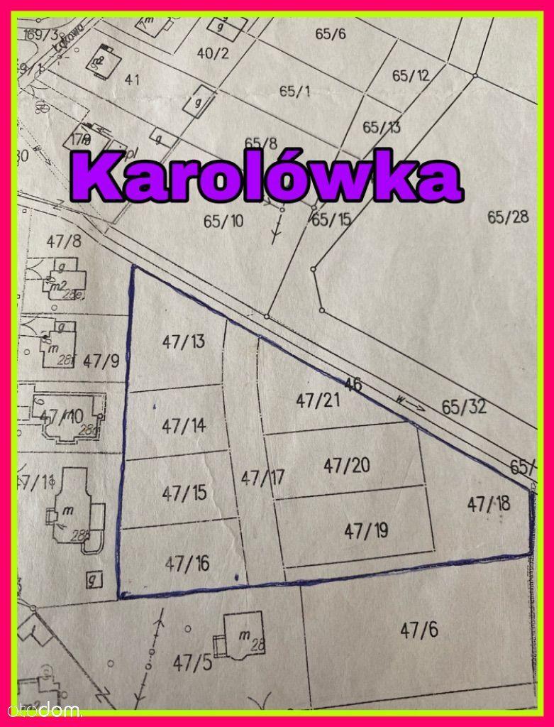 Kompleks 8 działek na Karolówce - 5650m2