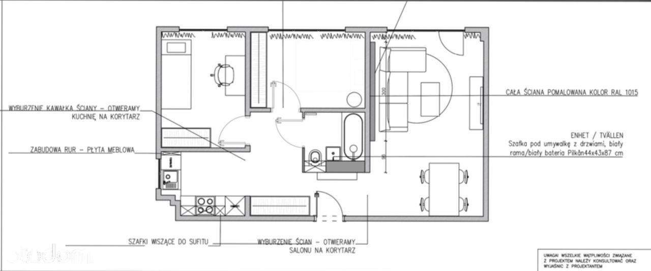 3 pokoje na Bielanach, świeżo wyremontowane