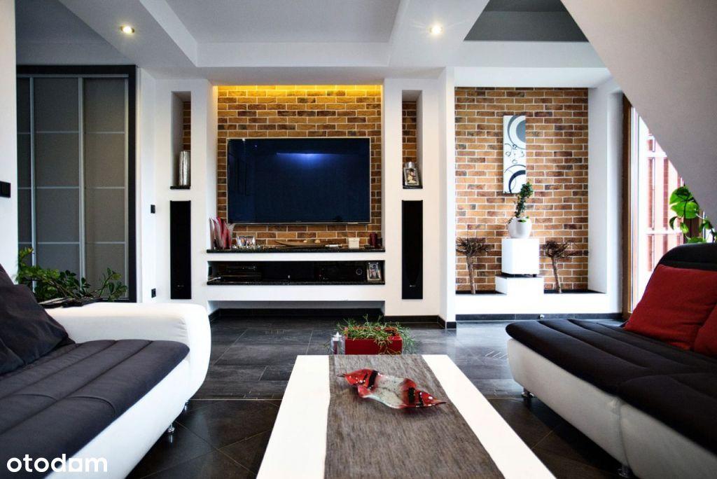 Nowoczesny, umeblowany apartament (2 poziomy, 96m)